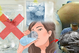 Ladies! Don't drink ice water, Seltzer Water, and Coconut During Menstruation. Here's why....