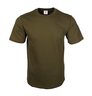 Kaos Polos Eco Soft Military Green