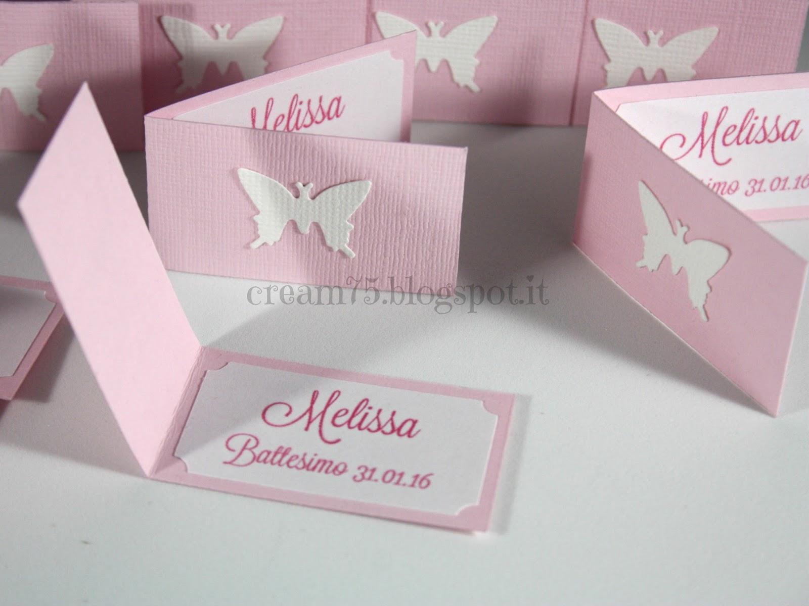Ben noto My Sweet Blog: Biglietti stampati con farfalla, per confetti o  ZY52