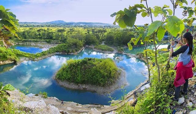 Destinasi Wisata Jogja - Telaga Biru Semin