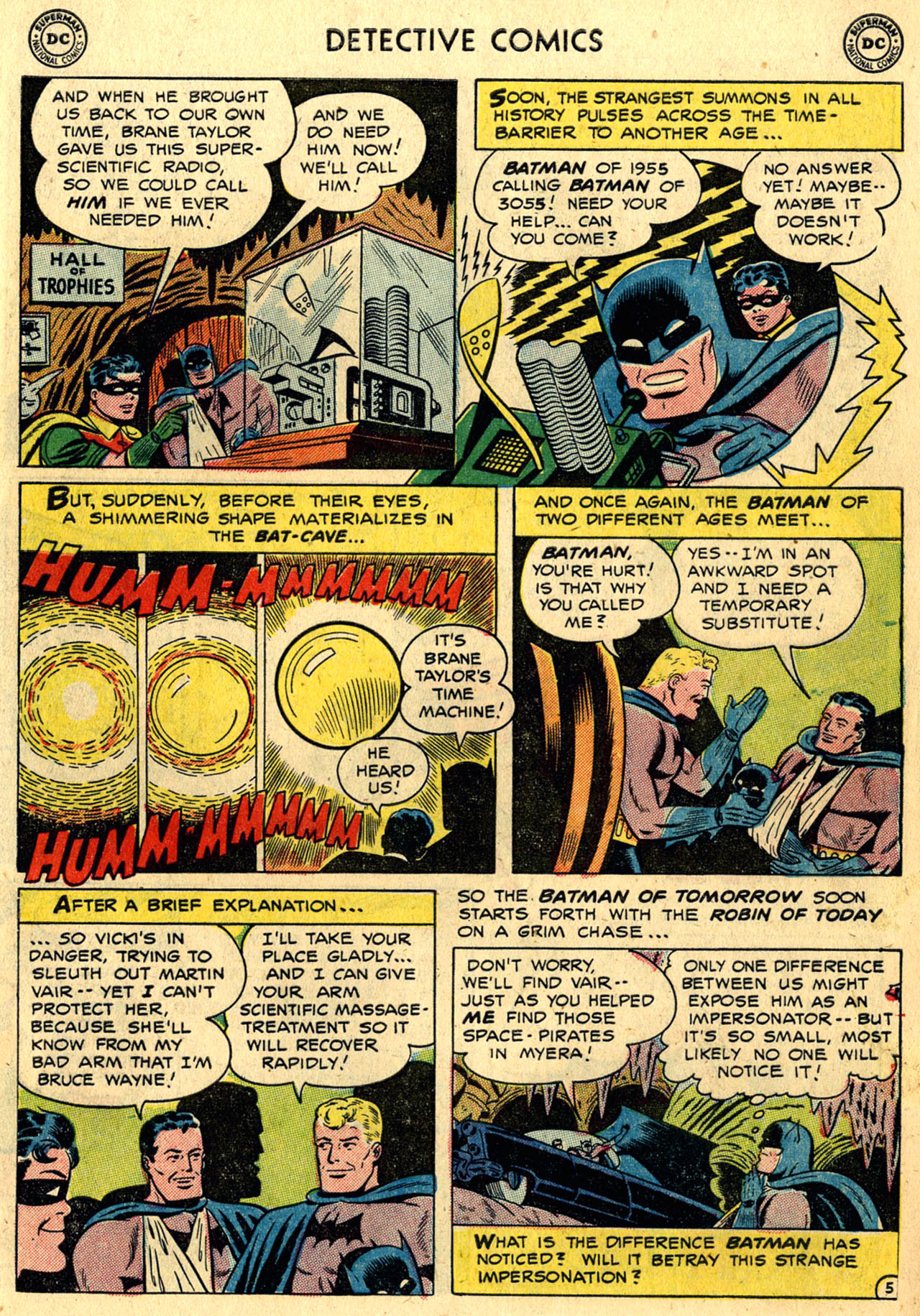 Read online Detective Comics (1937) comic -  Issue #216 - 7