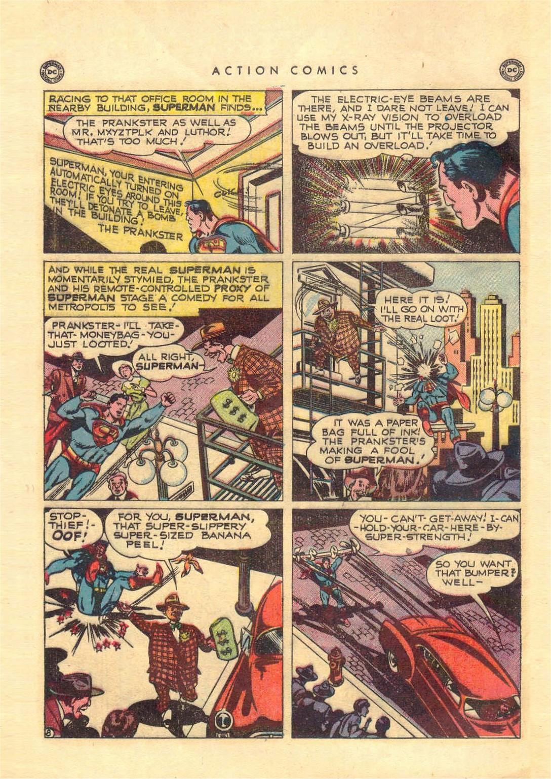 Action Comics (1938) 151 Page 8