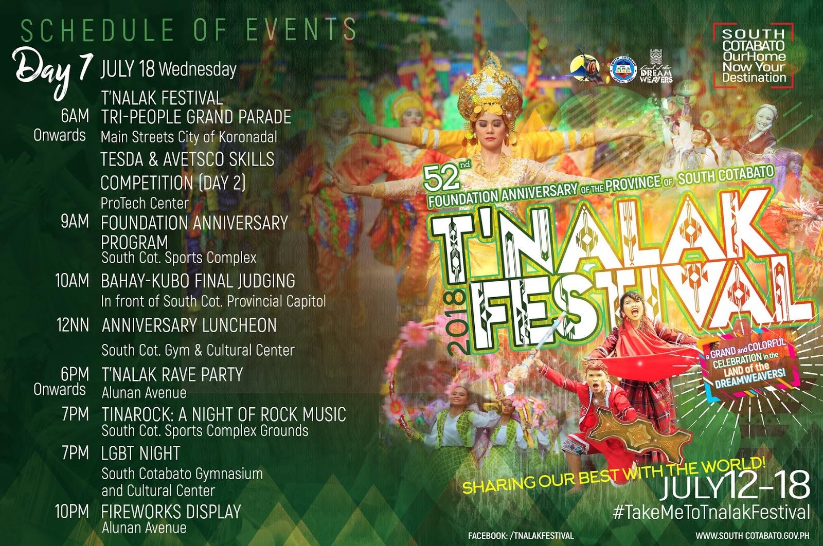 Tnalak Festival na naman! See schedule of activities here