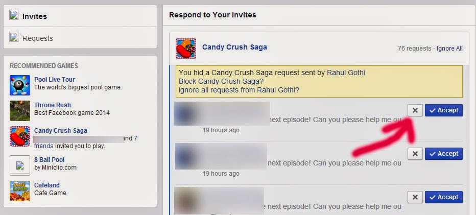 How to Get Rid of Game Invitations on Facebook