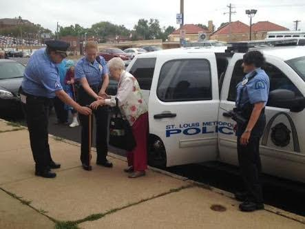 Police cuff and arrest 102 year old woman...find out why