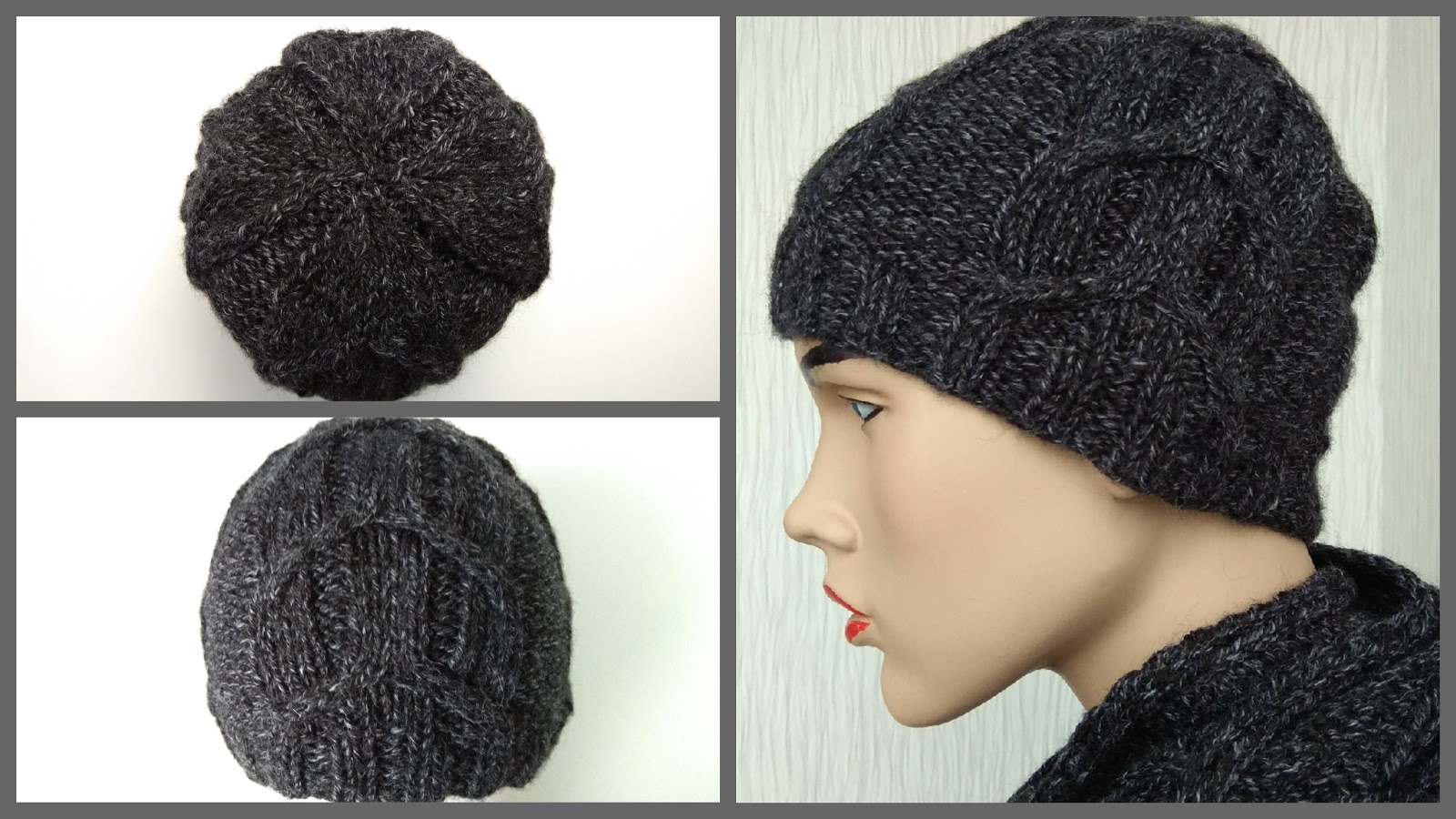 Cable Hat - Knitting Patterns