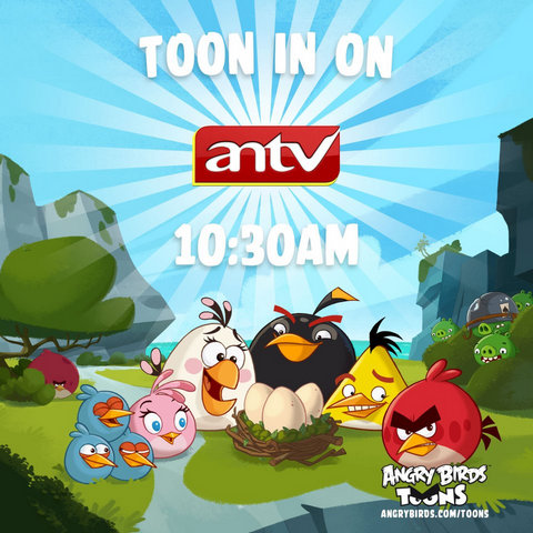 Angry Birds Toons di ANTV