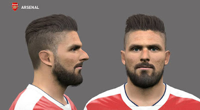 Olivier Giroud PES 2016 By Bou7a Facemaker