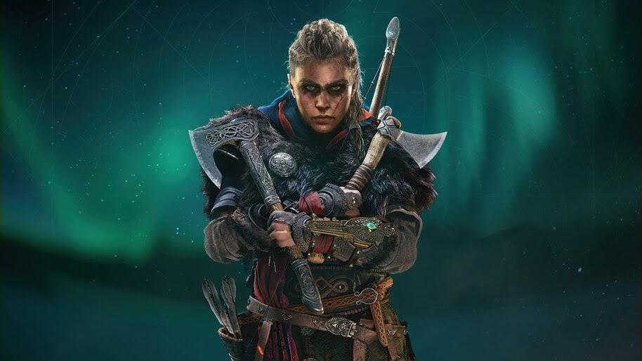 Assassins Creed Valhalla Female Eivor Axe 8k Wallpaper 7 2262