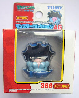 Clamperl Pokemon Figure Tomy Monster Collection AG series