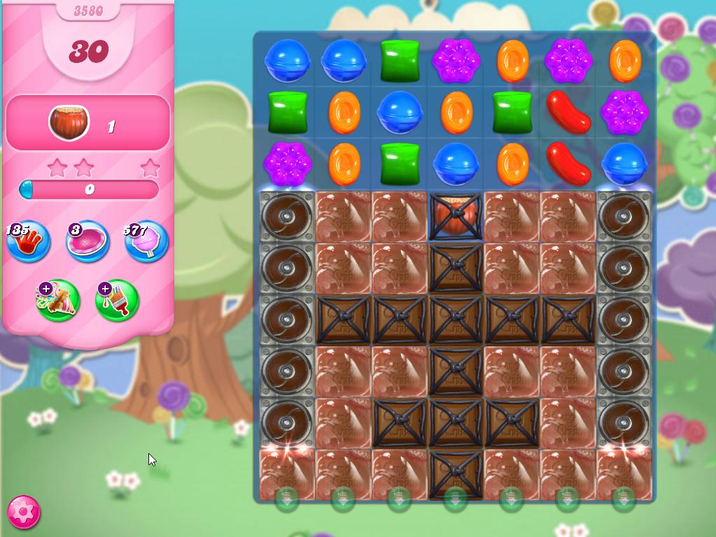Candy Crush Saga level 3580