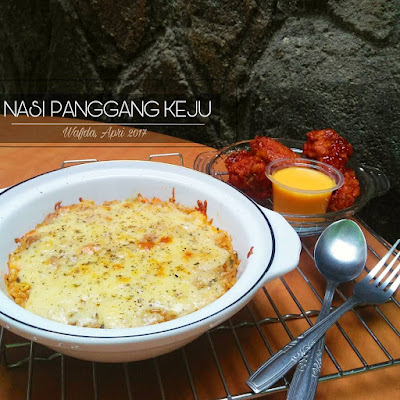 Resep Nasi Panggang Keju By @dapurwafda