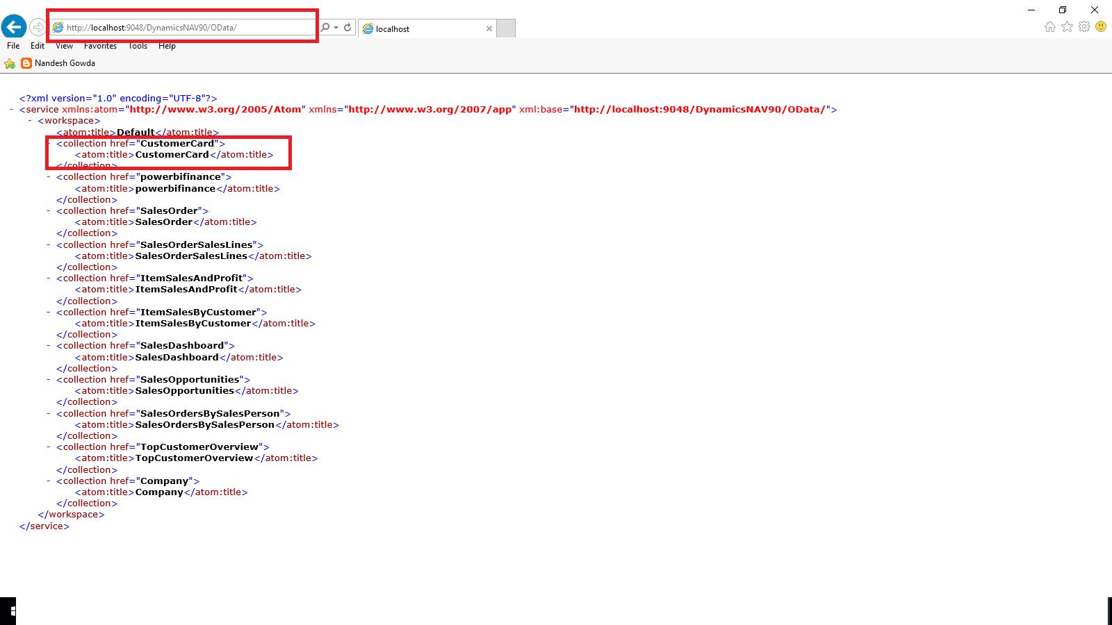 Workbooks workbook xmlns : Nandesh Gowda : Viewing Page Data in Excel Using PowerPivot (OData ...