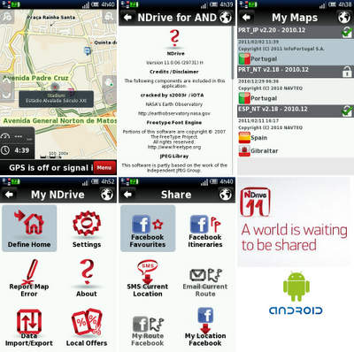 GPS Offline dengan NDRIVE 11 Map Indonesia