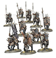 Warhammer Age of Sigmar Chaos Knights models unit