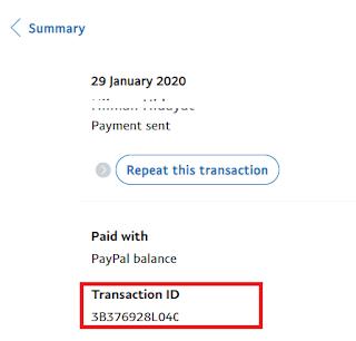 Cara Beli Saldo OVO Via Paypal
