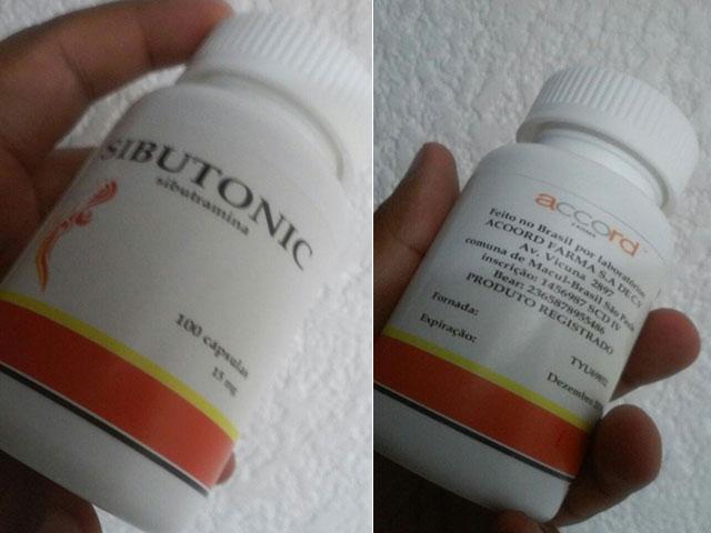 Medicamento Sibutonic. Foto: Reprodução