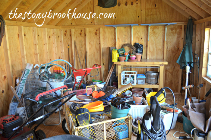 Shed Mess