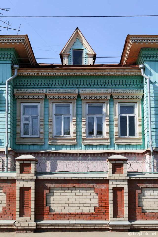 казань деревянные дома