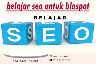 belajar seo untuk blogspot