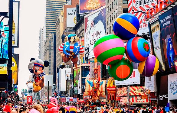 Macy's Thanksgiving Parade em New York