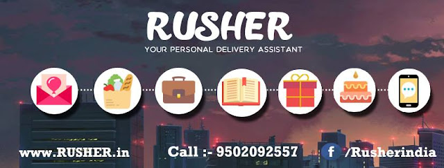 "Rusher "" Your PErsonal Delivery Assistant"" iamceo"