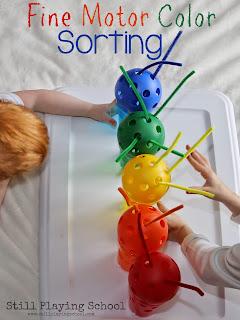 Sorting Colors Preschool