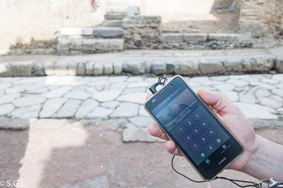 Audiguia de las ruinas de Herculano, la otra victima del Vesubio