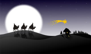 Holy Three Kings e-cards pictures free download