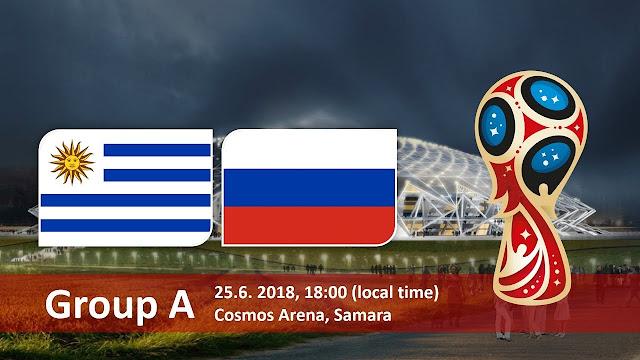 اهداف مباراة أوروجواي وروسيا Uruguay vs Russia في مونديال 2018 في روسيا