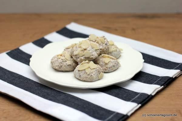 Rezept Weihnachtsplätzchen Zimt-Mandelberge, glutenfrei
