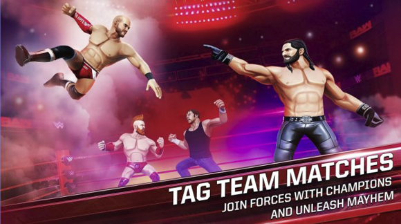 WWE Mayhem Mod Apk Unlimited Money Terbaru