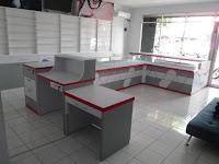 Interior Semarang - Etalase Kacamata dan Interior Untuk Optik