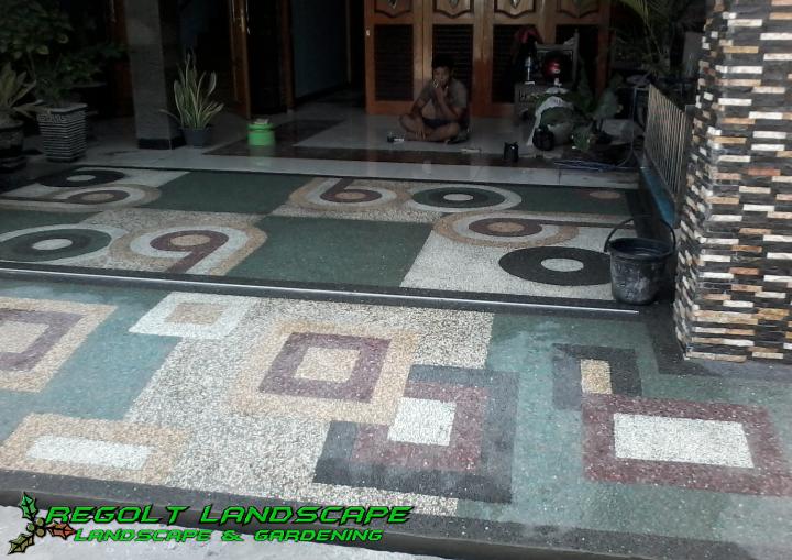 Gallery Batu Sikat,Carport/Ampyangan Regolt Landscape