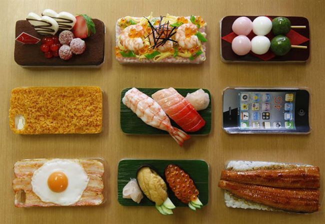 Interesting Amp Funny Food Shaped Phone Cases Are Hot In Japan