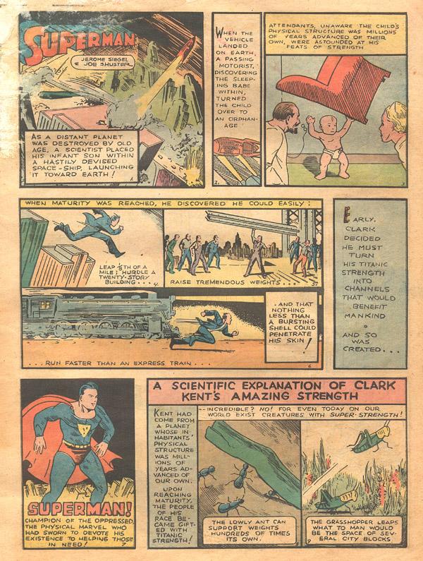 Action Comics (1938) 1 Page 2