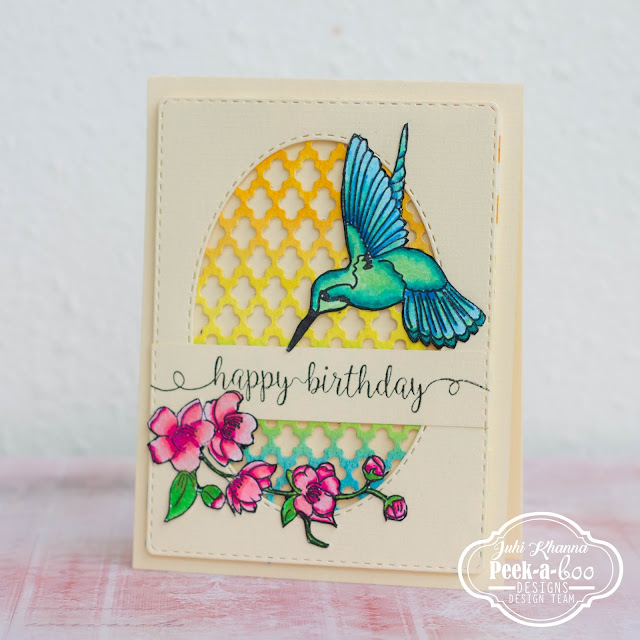 Humming Blossom from Peek-a-boo designs