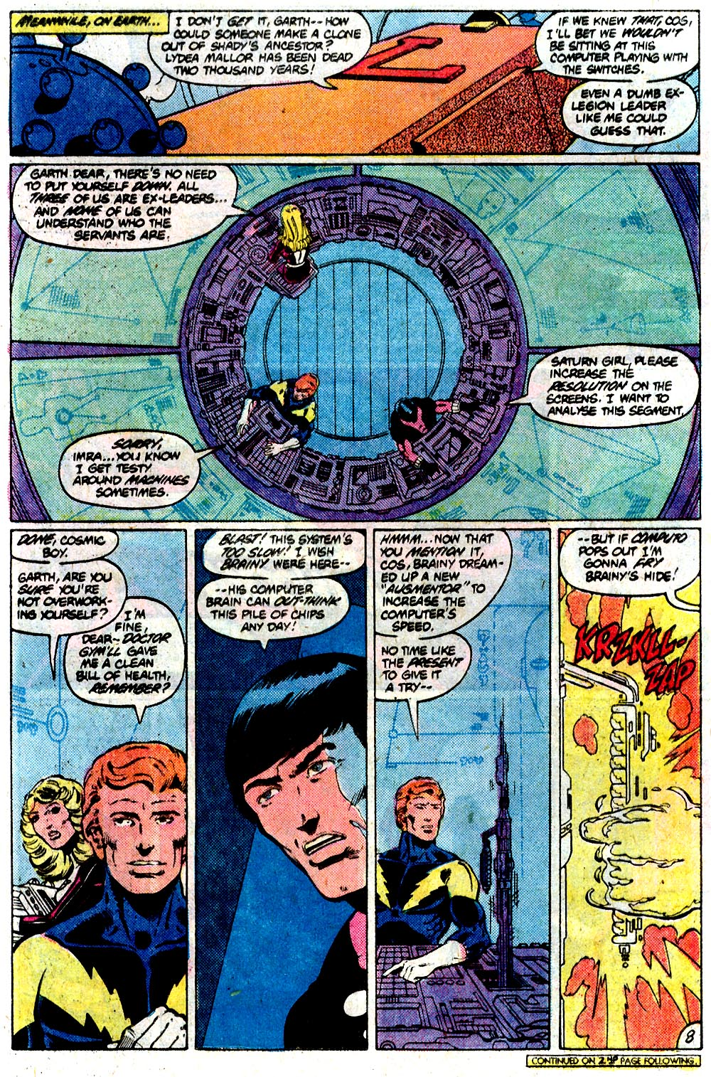 Legion of Super-Heroes (1980) 292 Page 8