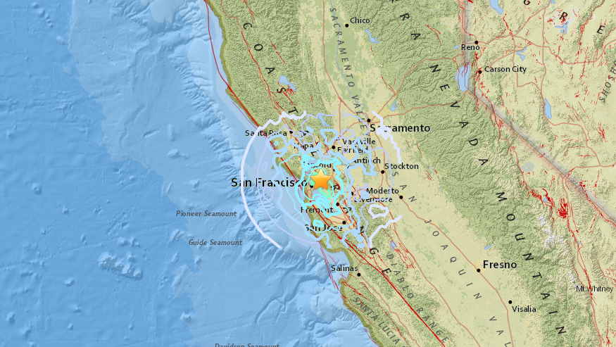 At Least 8 Small Earthquakes Strike Near Danville: USGS ...