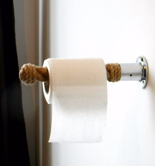 Rope Toilet Paper Roll Holder