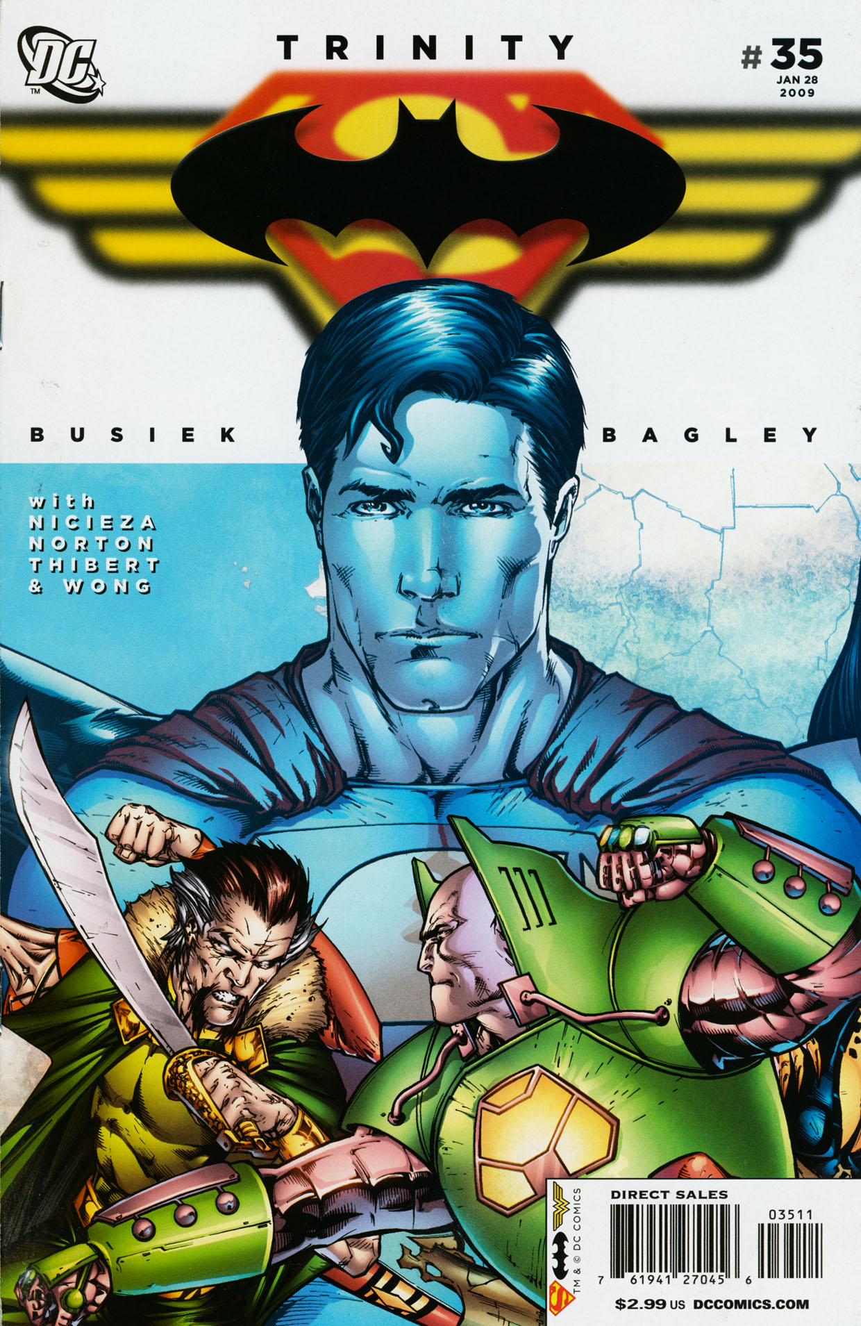 Read online Trinity (2008) comic -  Issue #35 - 1