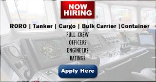 urgent job hiring for seaman 2019