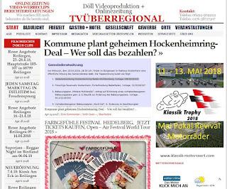 Hockenheim: Kommune plant geheimen Hockenheimring-Deal – Wer soll das bezahlen? Am 25.04.2018 steht im Rathaus eine denkwürdige Gemeinderatssitzung an:Top 1 ist der Rahmenvertrag zur zukünftigen Nutzung des Hockenheimrings.