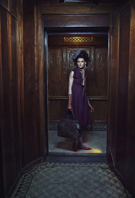 Katlin Aas, Kat Hessen by Emma Summerton for Vogue Italia September 2015