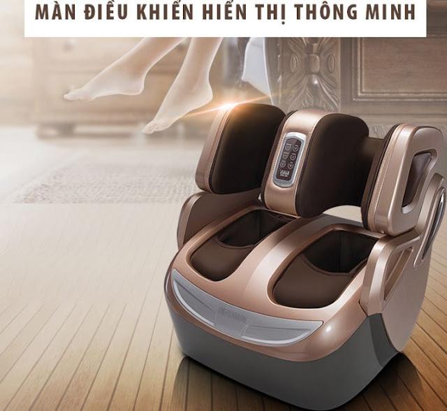 Sử dụng máy massage chân giá rẻ có sợ tốn điện không?