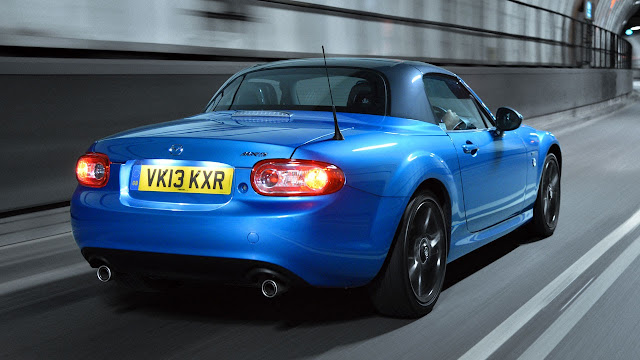 Limited Edition Mazda MX-5 'Sport Graphite' rear