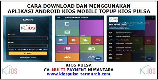 Cara Download Aplikasi Android Kios Mobile Topup