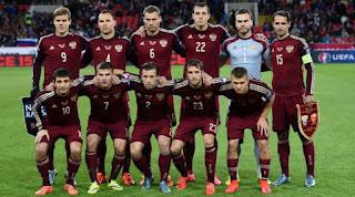 Skuad Susunan Pemain Rusia