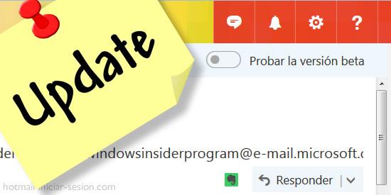 Se inician las pruebas de una versión Beta de Hotmail iniciar sesion