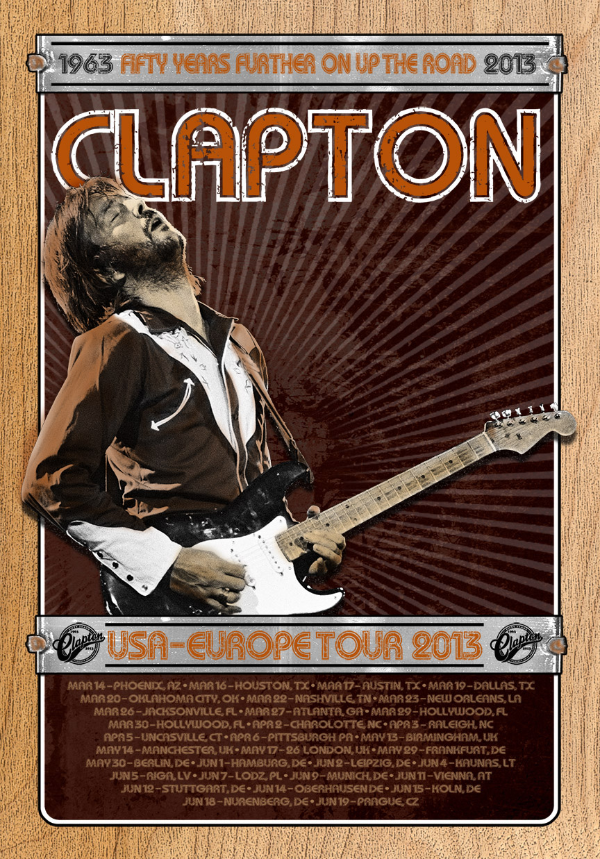eric clapton cancels european shows due to back injury vvn music. Black Bedroom Furniture Sets. Home Design Ideas